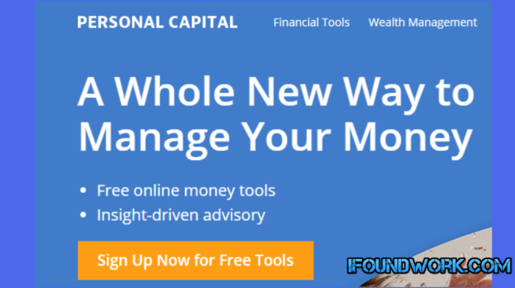 Personal Capital : Best Investment Tracker 2019